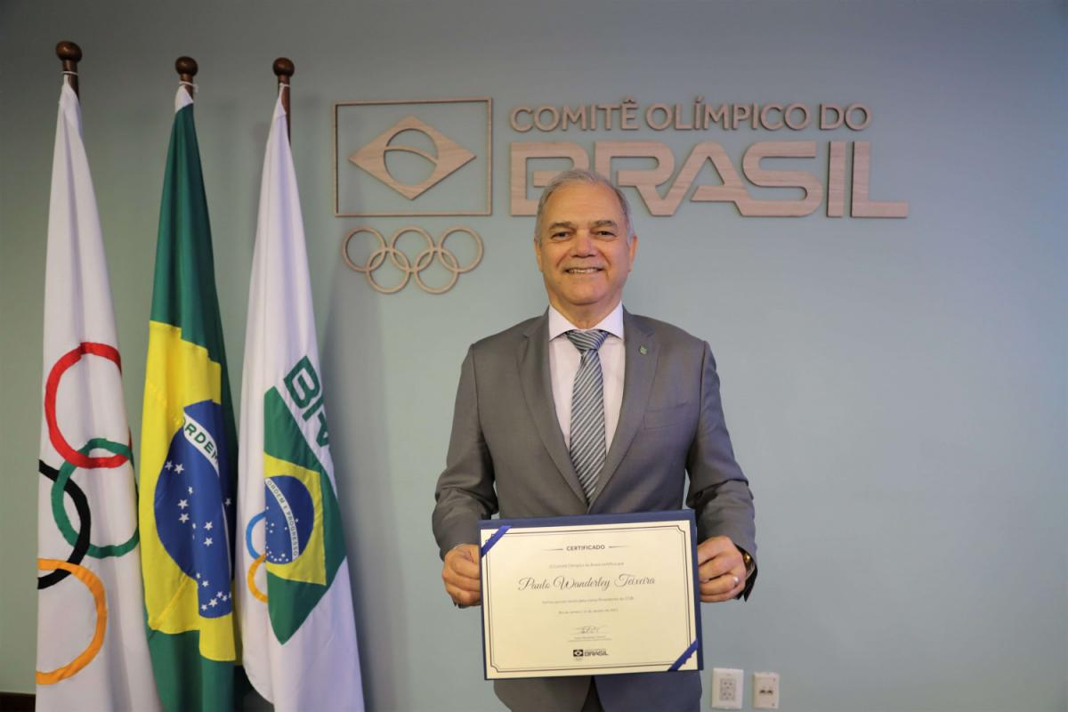 Paulo Wanderley takes office as president and begins mandate at the head of the COB