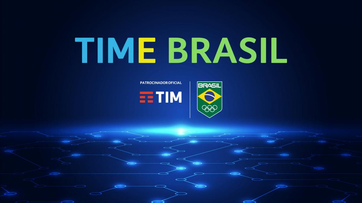 TIM is the new sponsor of the Brazilian Olympic Committee