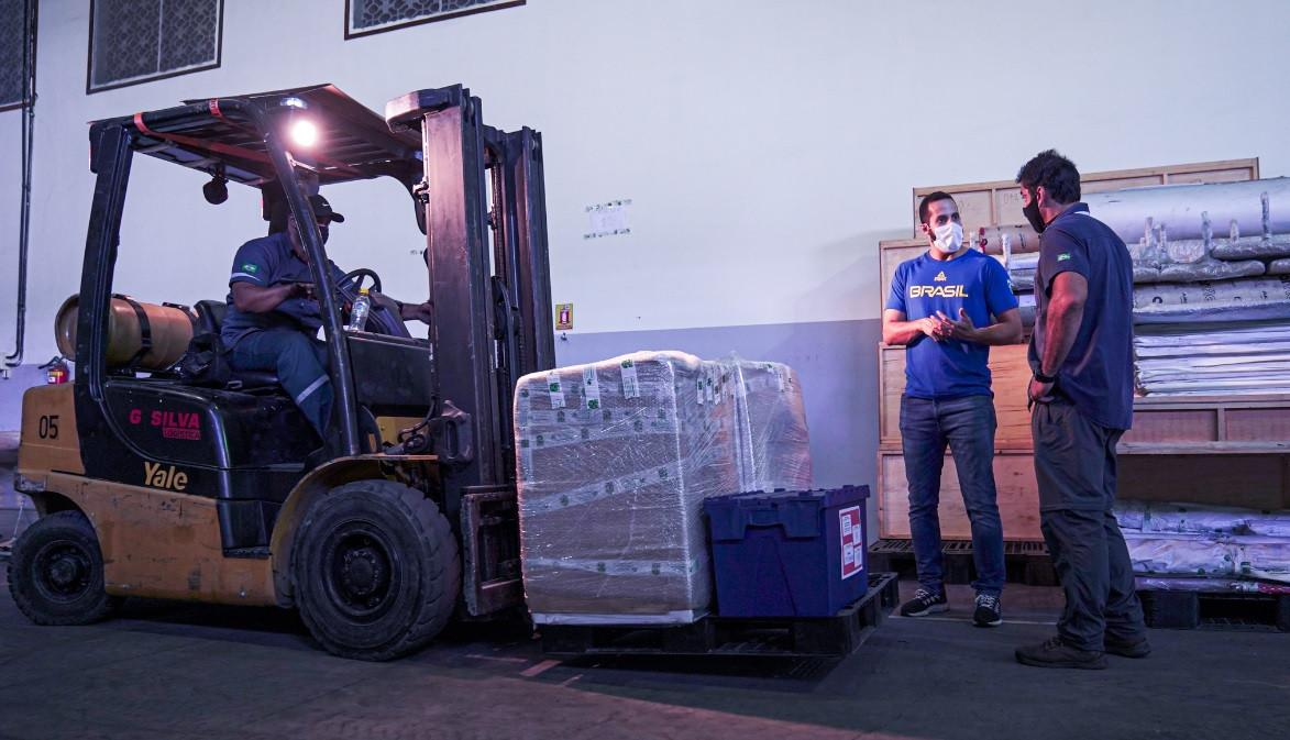 In the most complex logistical operation in its history, BOC sends 20 containers with materials to Tokyo